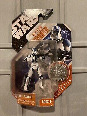 Star Wars Clone Wars 30th TAC Saga Legends 501st Legion Clone Trooper New