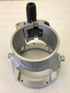 Sears Craftsman Router Motor Housing Base with Adjustment gears and Clamp