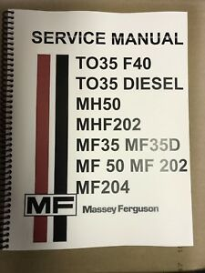 massey ferguson repair manual ebay rh ebay com ebay service manual silverado 2001 ebay service manual for samsung tv txb-2025