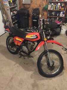 1979 Honda xl 100s dirt bike