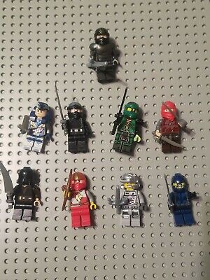 Lego Minifigure Nexo Knight Ninjago Lot 9 With Accessories