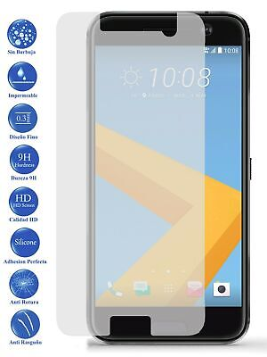 Protector de Pantalla Cristal Templado Vidrio 9H Premium para HTC M10