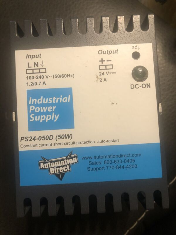 AUTOMATION DIRECT PS24-050D POWER SUPPLY