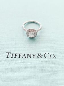 Stunning 1.11 carat TIFFANY & CO Soleste diamond engagement ring Kenmore Brisbane North West Preview