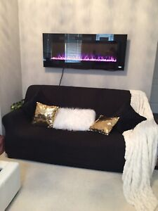 Love set sofa comes with black cover