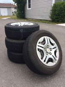 205/65 R15 All season tires and rims