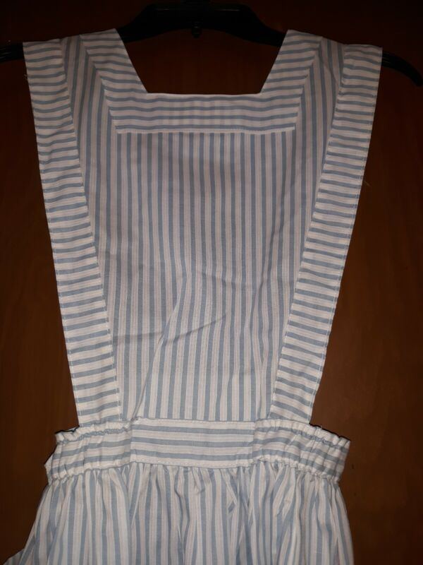 NOS Vintage Red Cross Teen Candy Striper Uniform Pinafore by Angelica sz 8 USA
