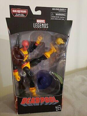 Marvel Legends Series 6-inch Deadpool with Dr. Karl Lykos BAF