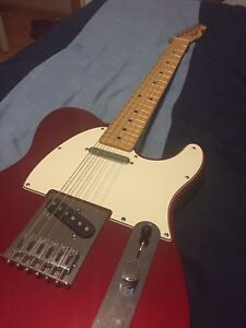 Fender Telecaster Candy Apple Red