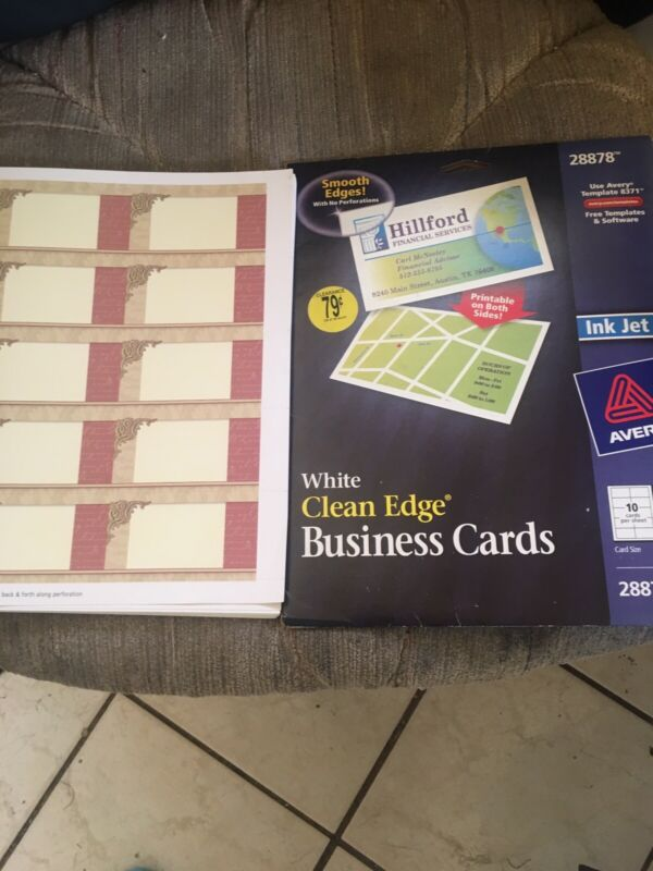 Business Card Sheets And Maker