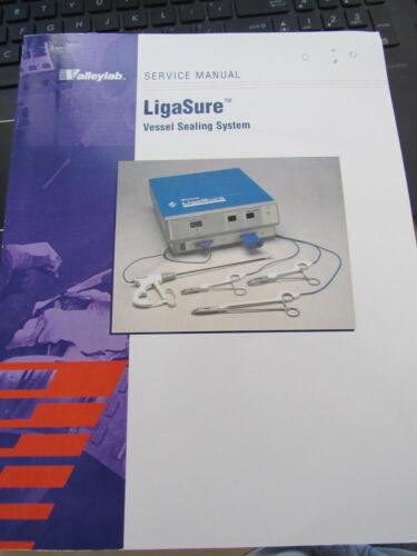 Valleylab Ligasure Vessel Sealing System Generator SERVICE MANUAL 945103085 2001