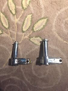 Drum mount microphone clips