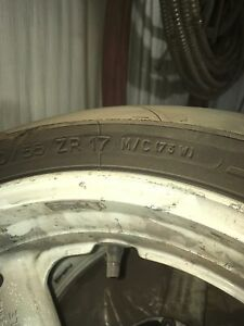 96-00 gsxr rims and tires