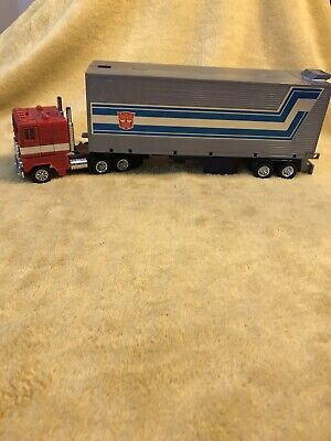 Transformers Optimus Prime G1 Truck and Trailer (See Desc)