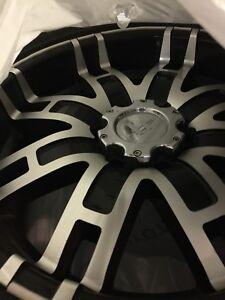 Tire and rim set