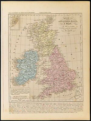 Cartina Geografica Inghilterra E Scozia.Mappa Vecchia Inghilterra Vatican