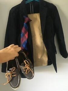 Boys size 5/6 JCrew dress clothes inc shoes $25