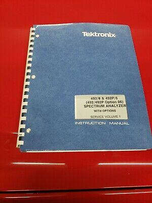 Tektronix 492 6 492p 6 Spectrum Analyzer Service Manual V1