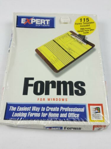 "Expert Software Forms For Windows 1994 3.5"" IBM Disk Factory Sealed"