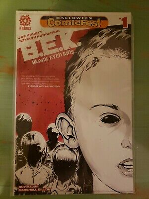 Aftershock Comics - Black Eyed Kids (B.E.K) - #1 - Halloween ComicFest VARIANT