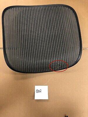 Herman Miller Aeron Seat Mesh Only Dark Gray 3d02 Size B Medium Aeron Part 002