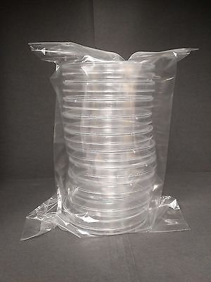90 X 15 Mm Sterile Plastic Petri Dishes Sterile 6 Packs 60 Plates