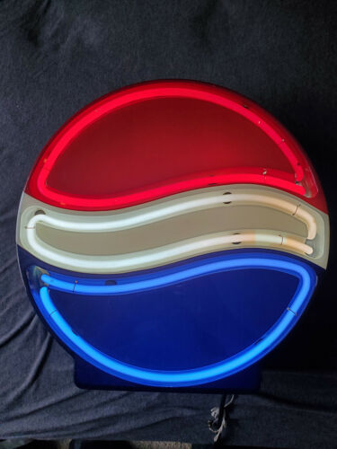 Original Fallon Pepsi Neon Sign In Working Condition