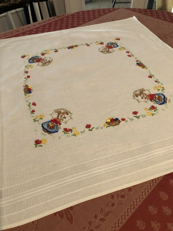 Vintage, Easter Tablecloth Germany