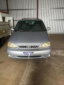 2002 Kia Carnival Wagon Geraldton Geraldton City Preview