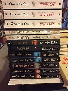 SYLVIA DAY books..