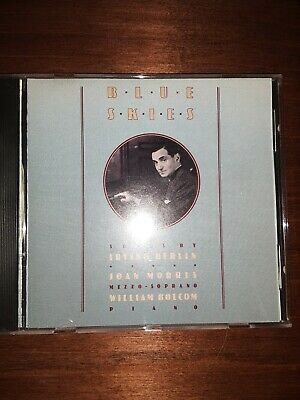 Blue Skies: Songs by Irving Berlin. William Bolcom & Joan Morris. CD, 1990, USA Blue Skies Irving Berlin