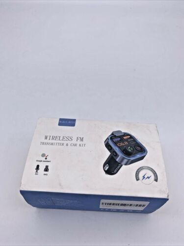 In Car Bluetooth FM Transmitter Radio MP3 Wireless Adapter USB Charger BT23