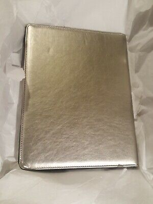 Buxton Silver Faux Leather Writing Pad Folio New Model St574006.sl