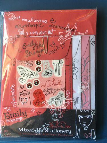Emily the Strange Mixed-Up Stationery - Sealed
