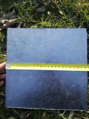 225mm x 225mm x 5mm Pure Graphite Plate
