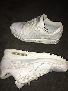 Men's White Leather Airmax 90's Cranbourne Casey Area Preview