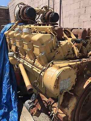 3412 Caterpillar Engine