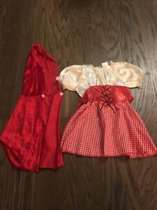 Halloween Costume- Baby Little Red Riding Hood
