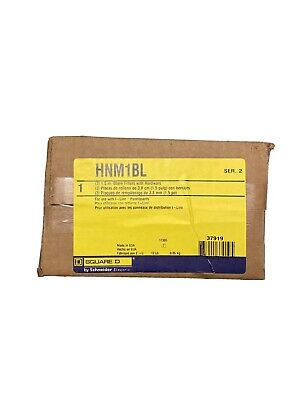 3-pack Square D Hnm1bl 1.5 Blank Fillers New In Box