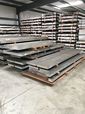 7075-t7351 0.75 X 10.8 X 12.8g Aerospace Grade Rolled Aluminum Alloy Plate