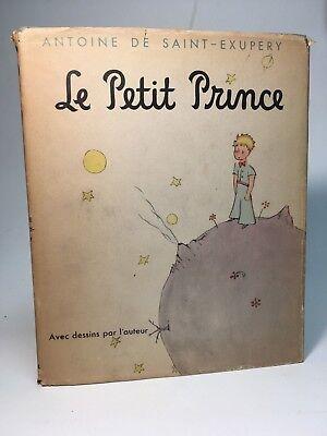 Le Petit Prince (The Little Prince) Antoine de Saint-Exupery / 1943 HC/DJ 4th pg