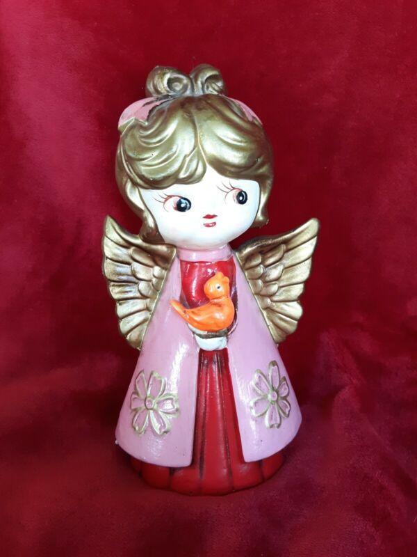 Vintage Christmas Holt Howard Paper Mache Peace Angel