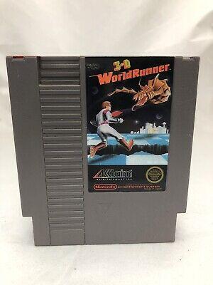 3-D WorldRunner - Nintendo Nes Video Game - Free Shipping
