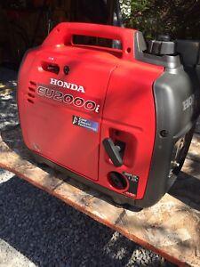 Mint Honda generator EU2000i