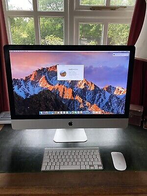 "Apple MC813B/A A1312 (Mid-2011) iMac 27"" Core i5-2500S 4GB RAM 1TB HDD..."
