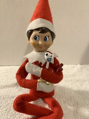 CHRISTMAS ELF MINI FORKY DOLL FOR YOU ON THE SHELF PROP/ACCESS SO CUTE