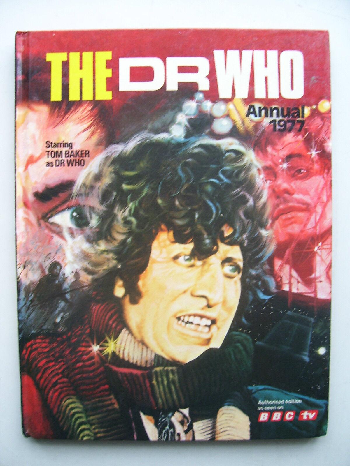Doctor Who Annual 1977 (Hardback) - Tom Baker