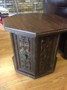 Vintage End Tables & Coffee Table