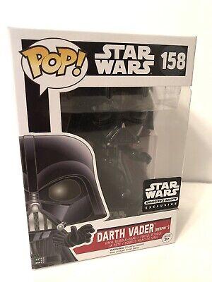 Funko POP Star Wars 158 Smugglers Bounty Exclusive Darth Vader Bespin