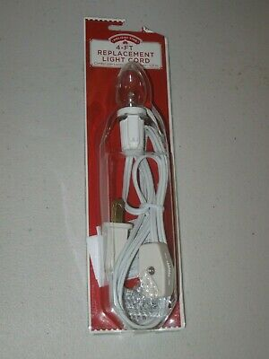 Halloween 4 Cast (HALLOWEEN VILLAGE Replacement SINGLE CLIP LIGHT CORD - BLOW MOLD  4)
